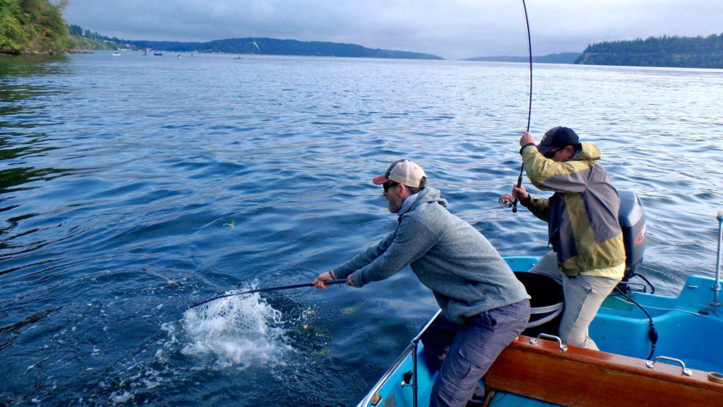 Fly Fishing with South Sound Skiffs