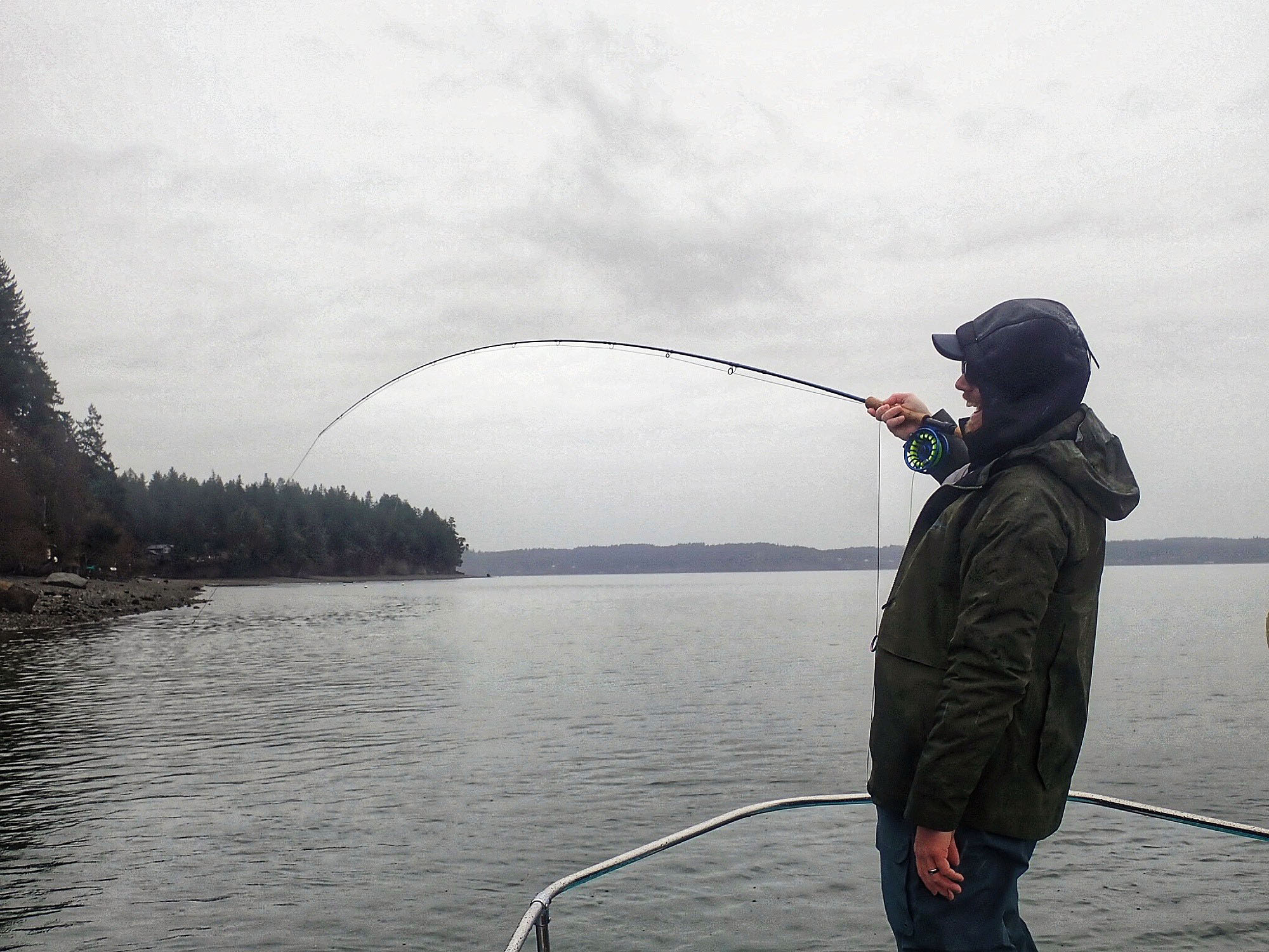 Fly Fishing in Puget Sound, Washington