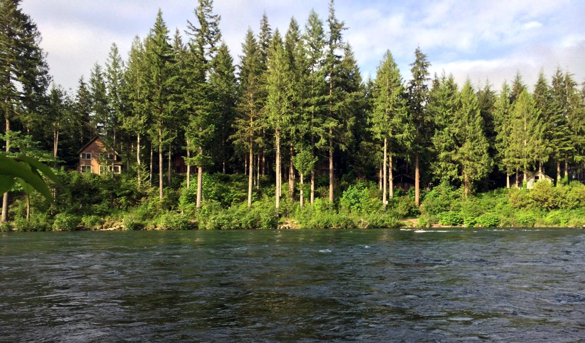 Skykomish River Reiter Fishing