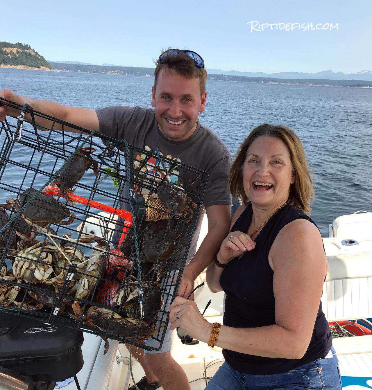 Camano Island Crabbing