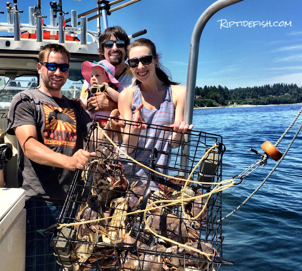 Crabbing Bainbridge Island Seattle Washington