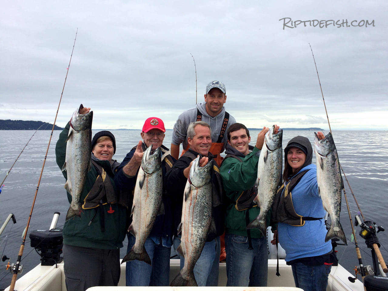 Possession Bar Chinook Salmon Fishing
