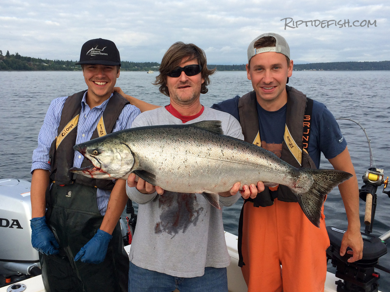 Point No Point Chinook Salmon Fishing