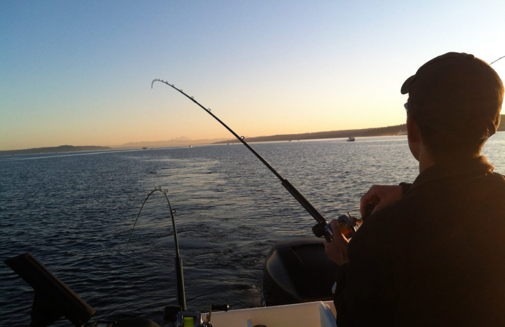 Edmonds Coho Fishing