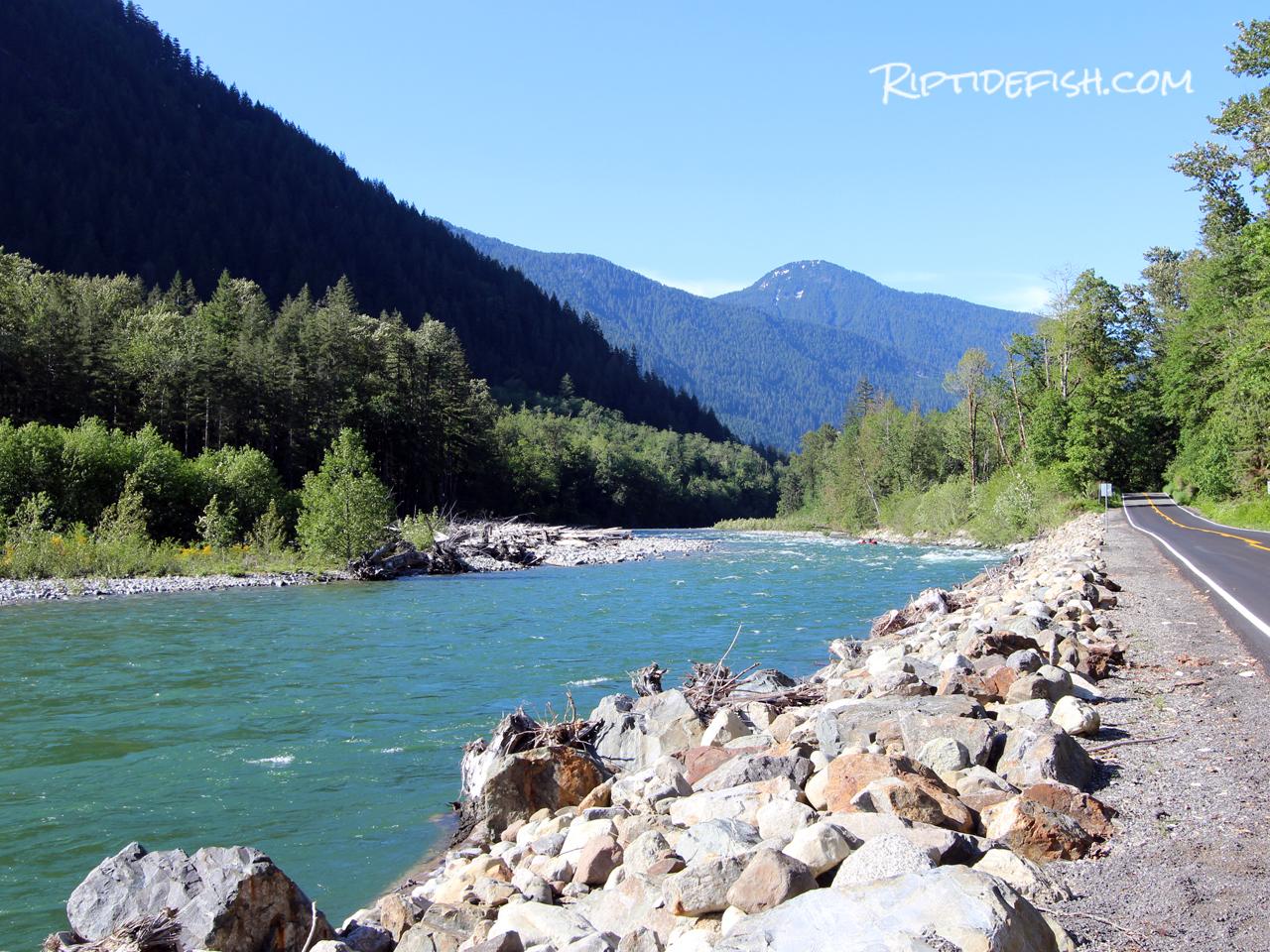 Best Fishing Spots Skykomish River.