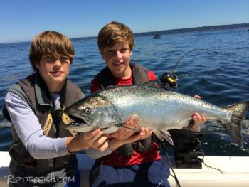 Kingston Chinook Salmon Fishing