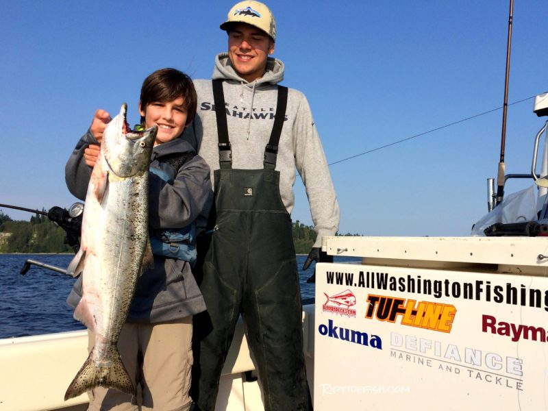 Oil Docks and Richmond Beach Chinook Salmon Fishing