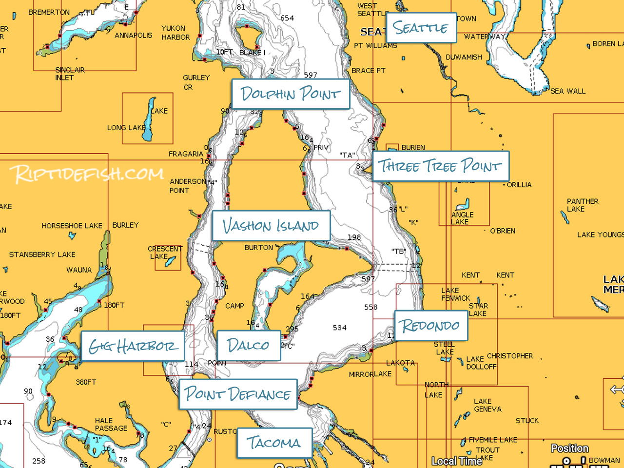 South Puget Sound Chinook Salmon Fishing Hot Spots