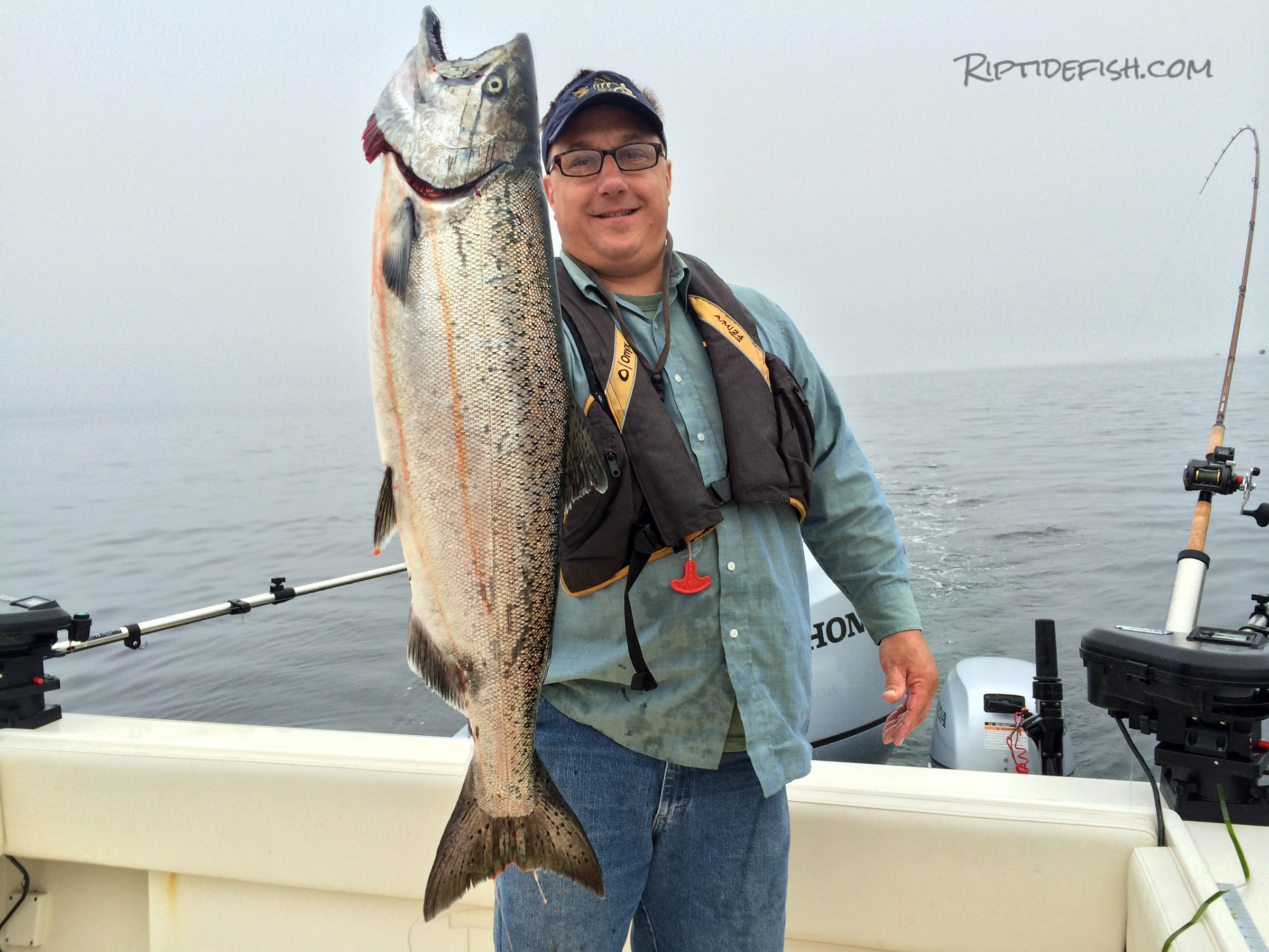 Fishing gear for catching Puget Sound Chinook Salmon