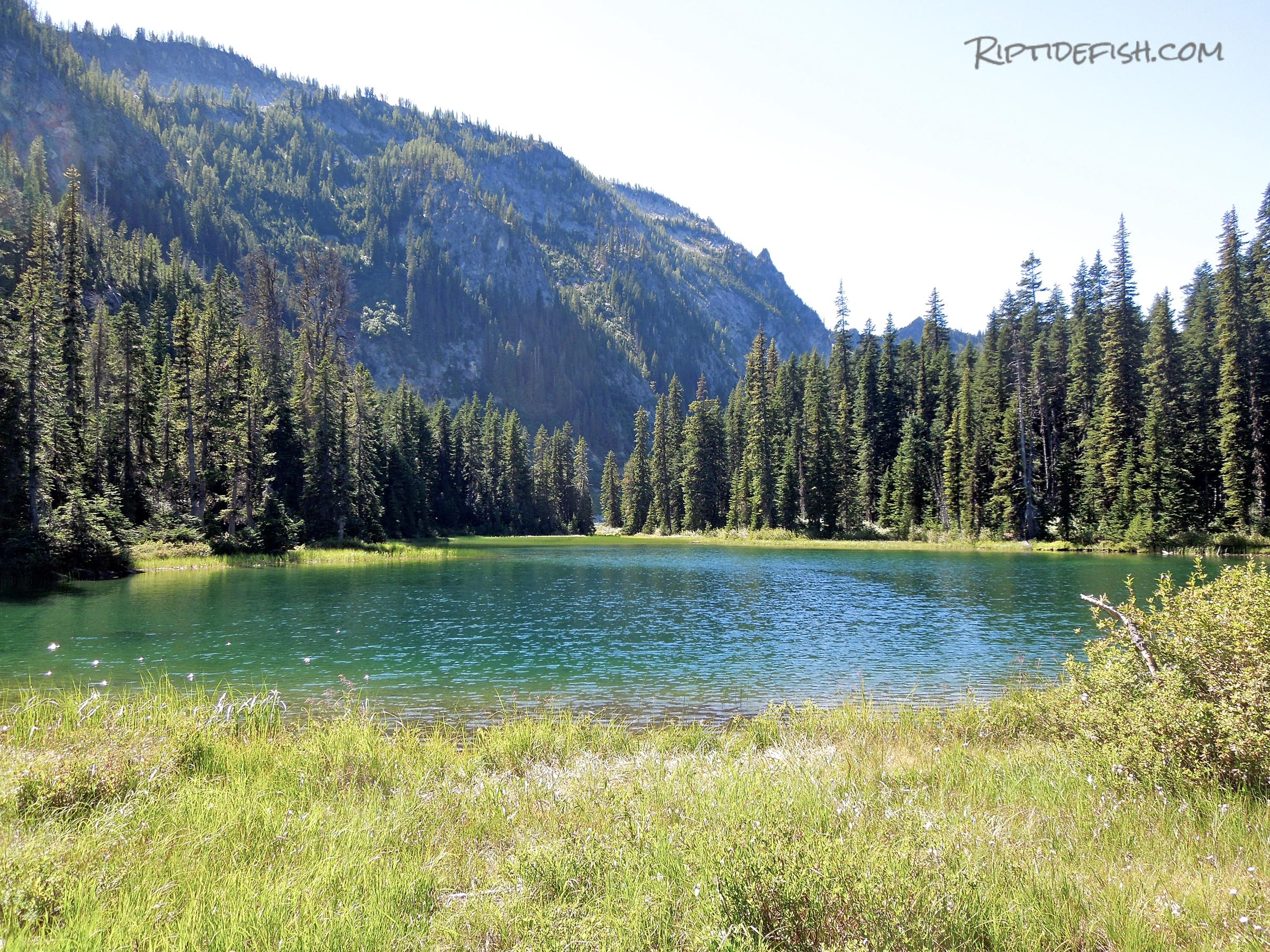 Glacier Peak Wilderness Fishing