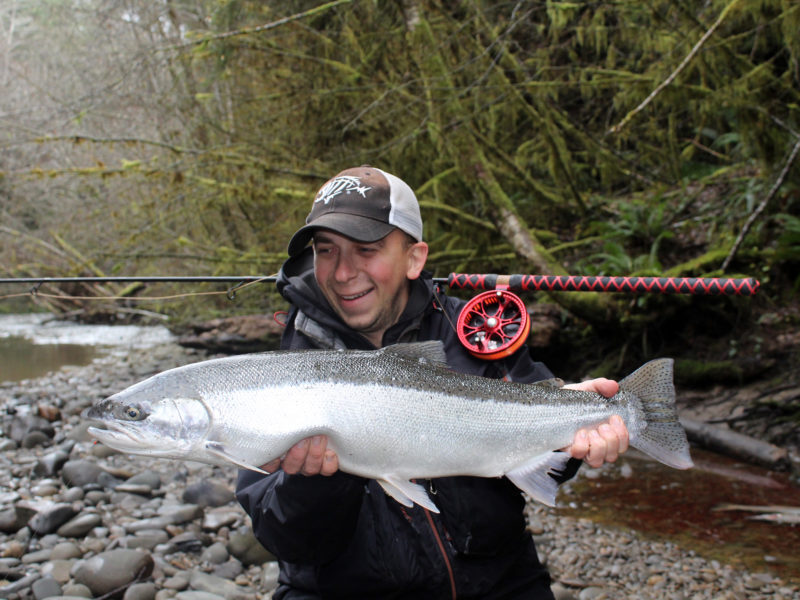Winter Steelhead Float Fishing
