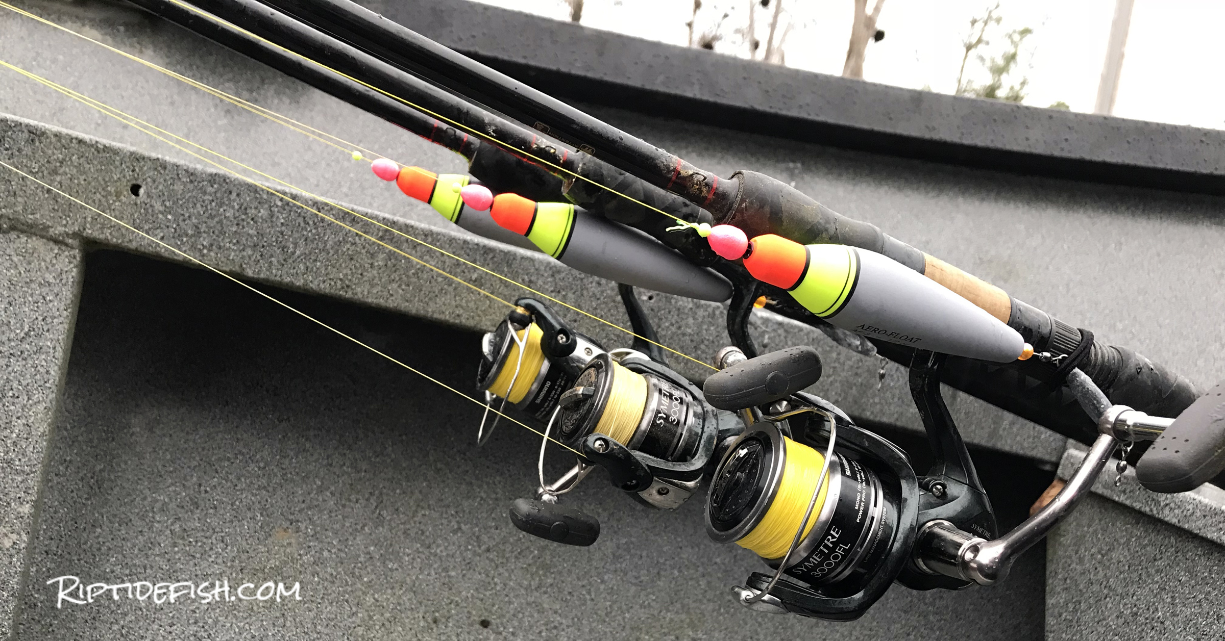 I use 9' spinning rods for Steelhead float fishing from my drift boat.