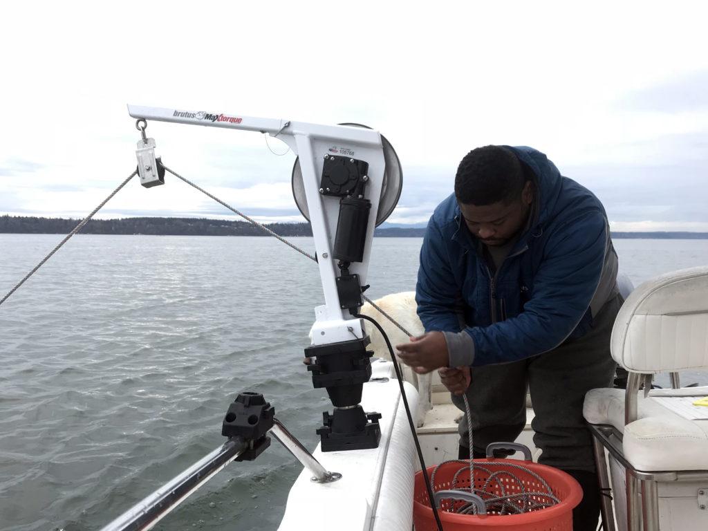 Pulling Crab Pots