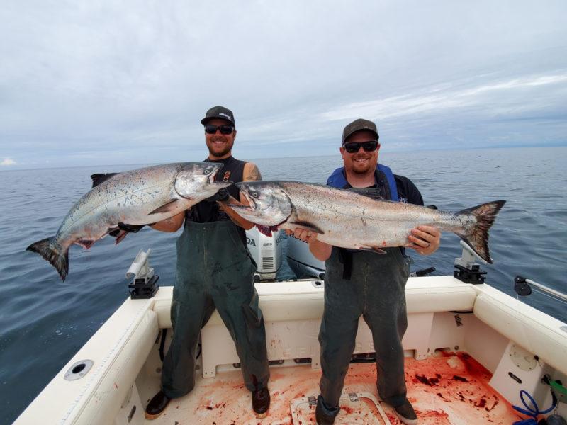 Westport Salmon Fishing