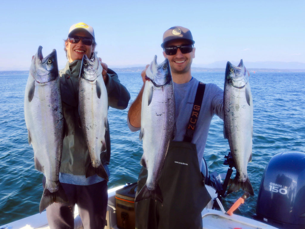Edmonds Coho Salmon Fishing