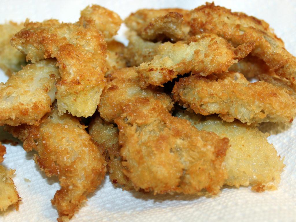 Fried Washington Razor Clams