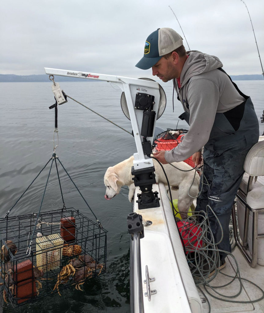 Crabbing Puget Sound Everett