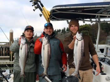 Seattle Winter Blackmouth Fishing