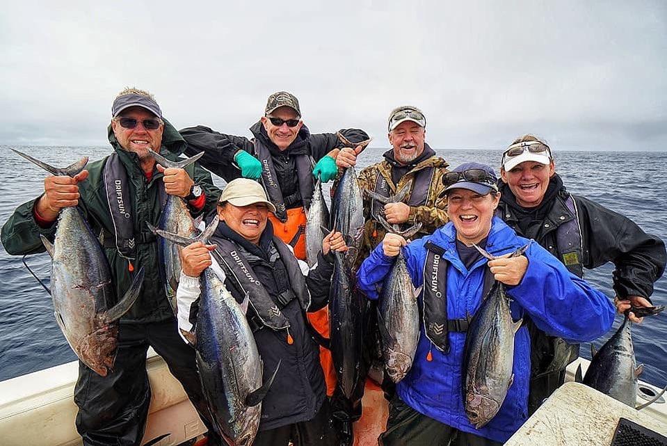 Seattle Albacore Tuna Fishing