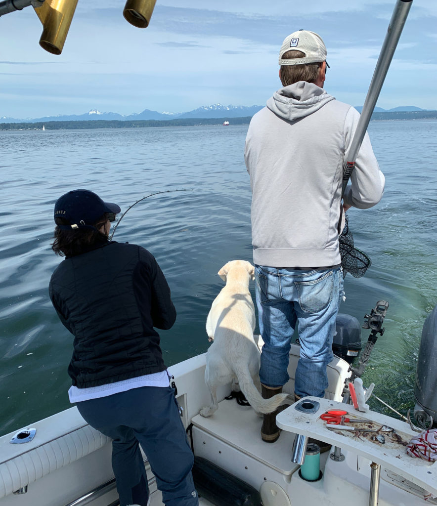 Marine Area 10 Coho Salmon Fishing near Seattle Washington