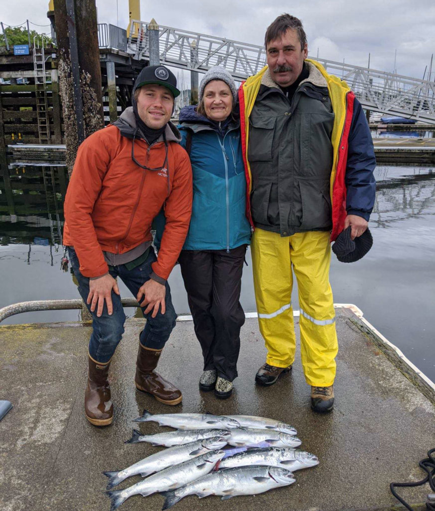 Puget Sound Resident Coho Salmon Fishing