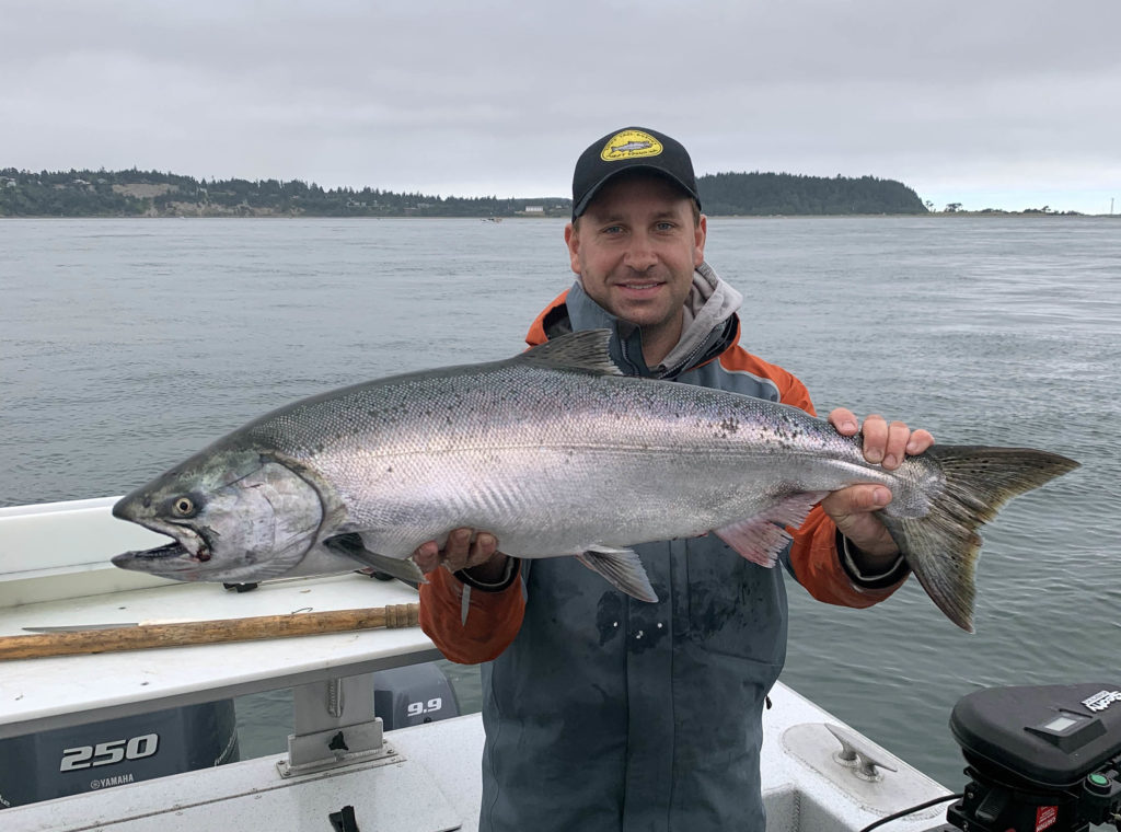 Port Townsend Mid Channel Salmon Fishing
