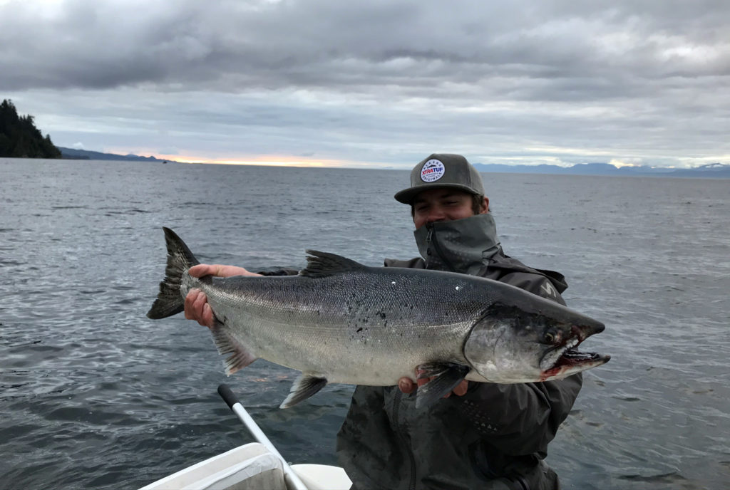 Sekiu Chinook Salmon Fishing
