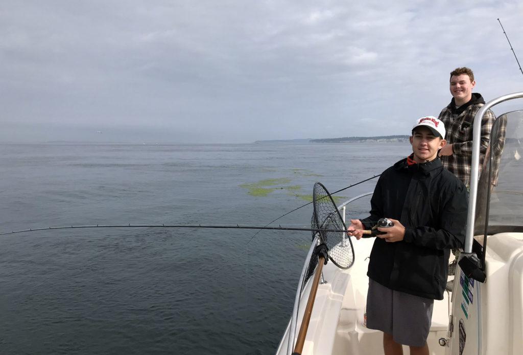 Puget Sound Salmon Mooching Tide Rip
