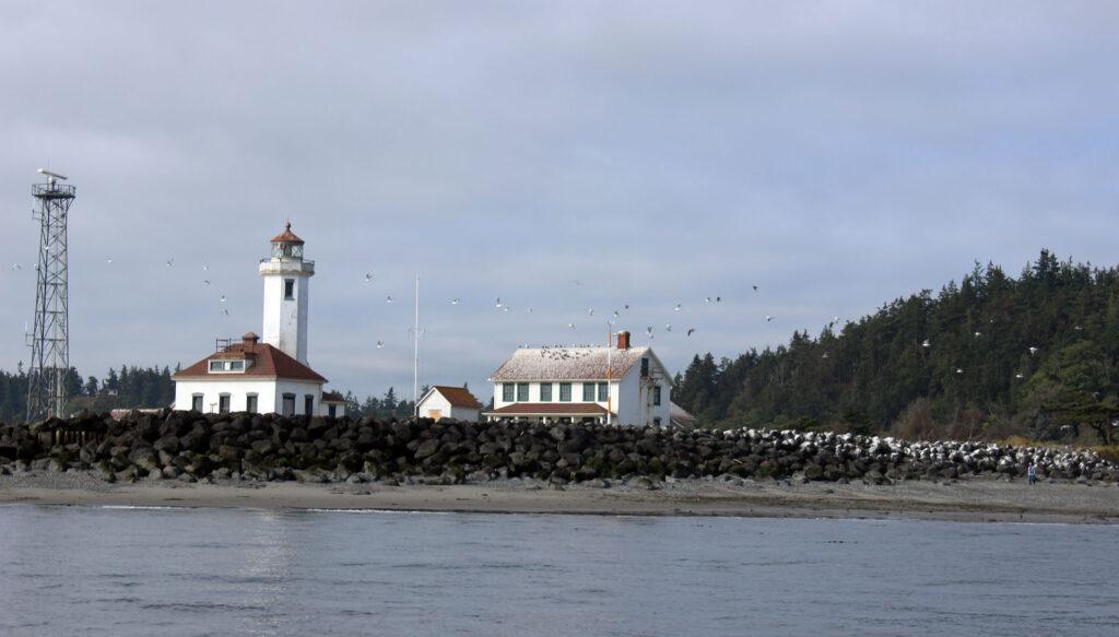 Point Wilson salmon fishing