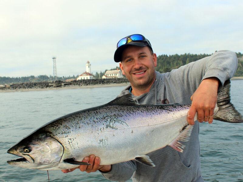 point wilson chinook salmon fishing