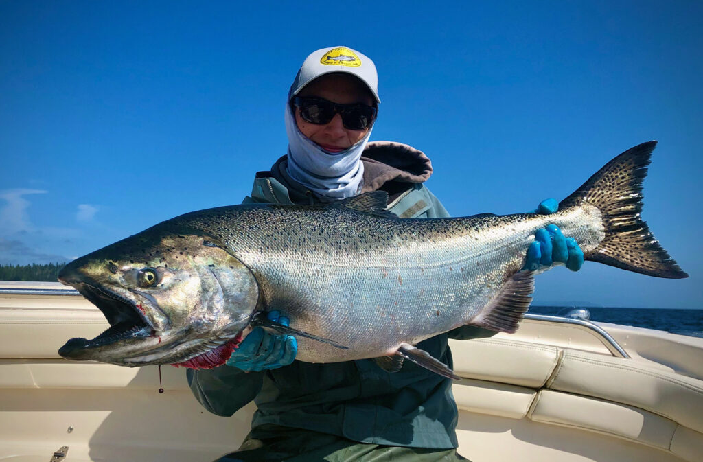 Puget Sound Trophy Chinook Salmon