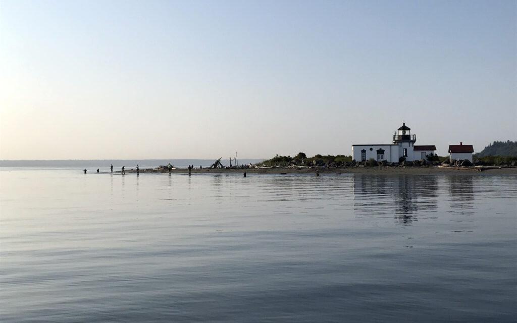 Puget Sound Coho Salmon Fishing Beach Fishing Boat Fishing