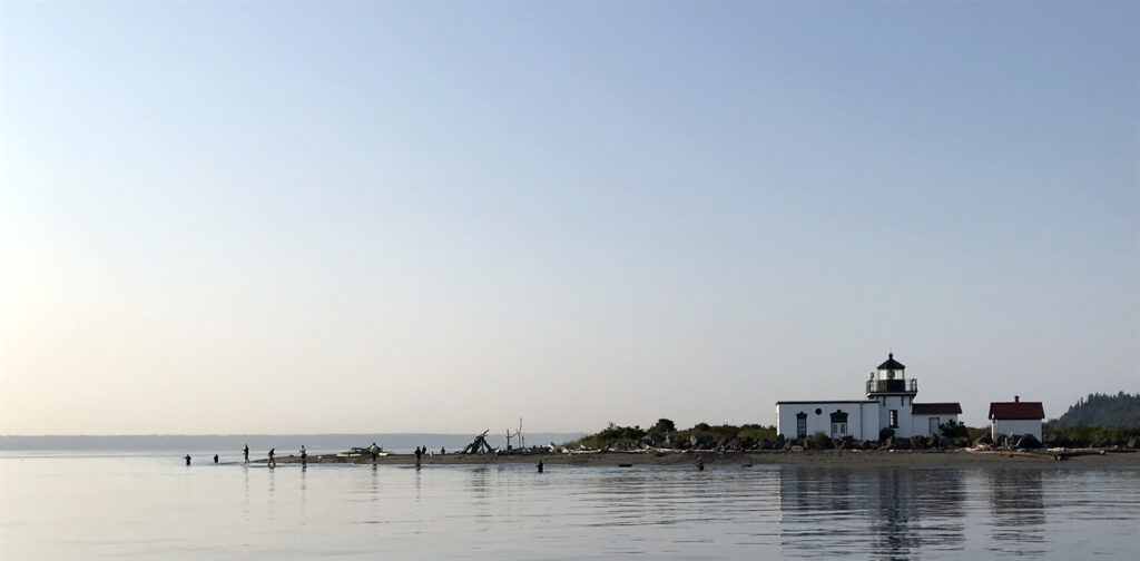 Puget Sound Salmon Beach Fishing