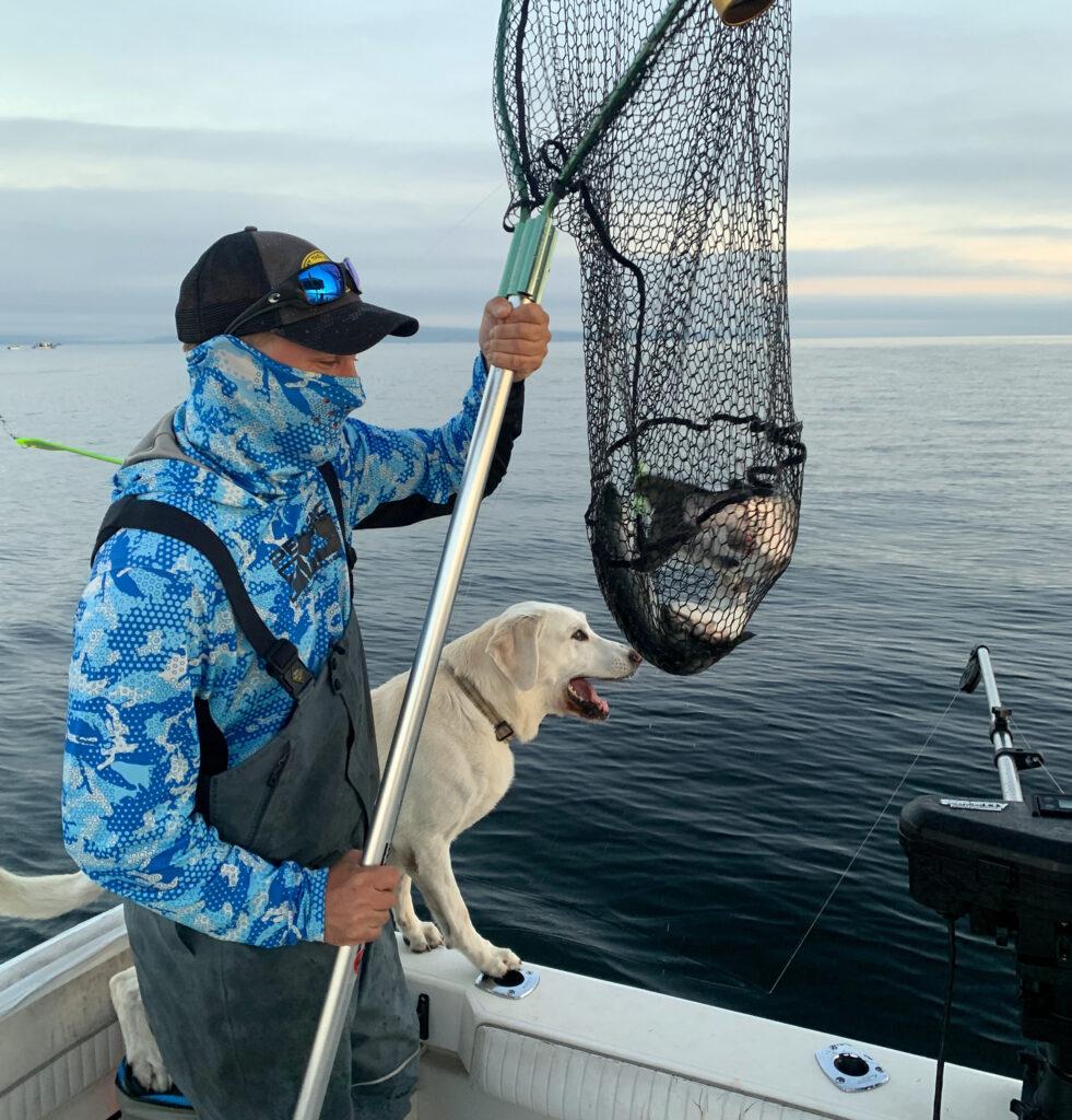 Puget Sound Washington Seattle Coho Salmon Fishing
