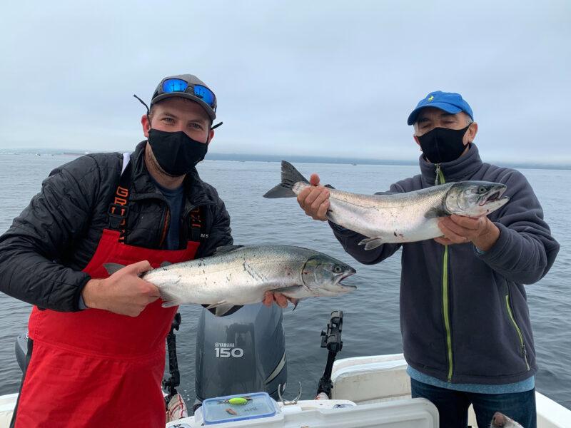Seattle West Point Coho Salmon Fishing