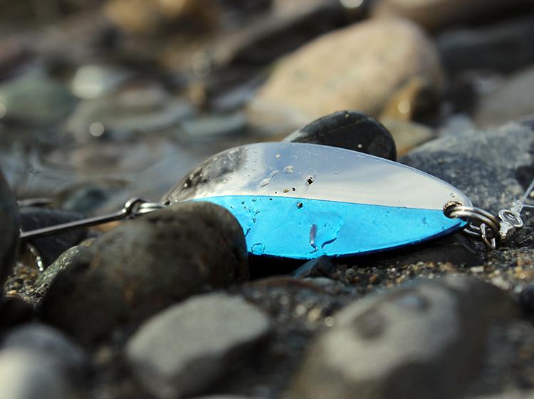 winter steelhead fishing rivers swinging spoons