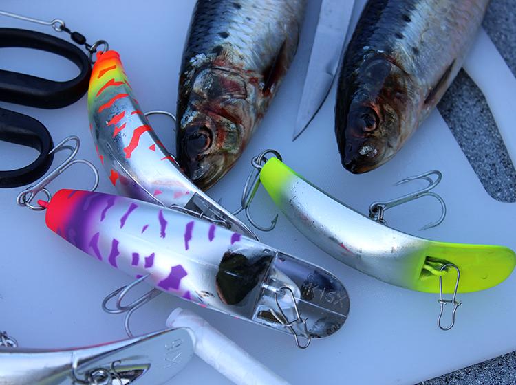 how to wrap kwikfish plugs salmon fishing