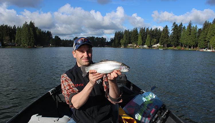Pine Lake Sammamish Fishing