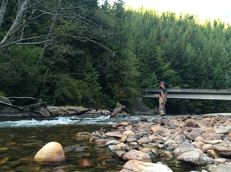 seattle river fishing