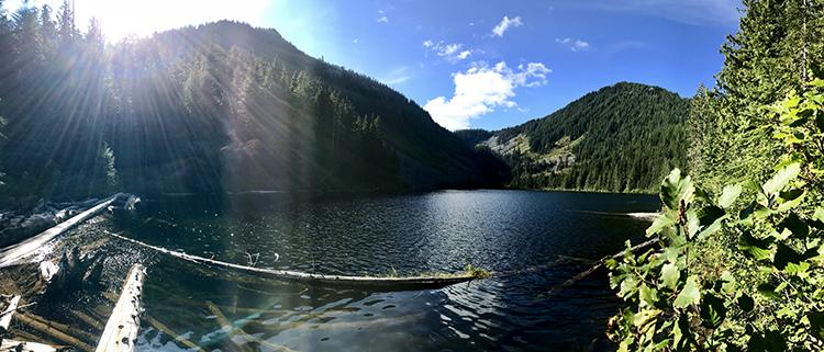 Talapus Lake fishing