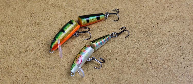 Jointed Rapala Trout Fishing Lure Idaha