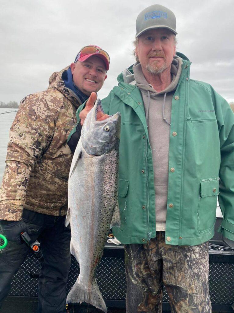 Columbia River Spring Chinook Fishing