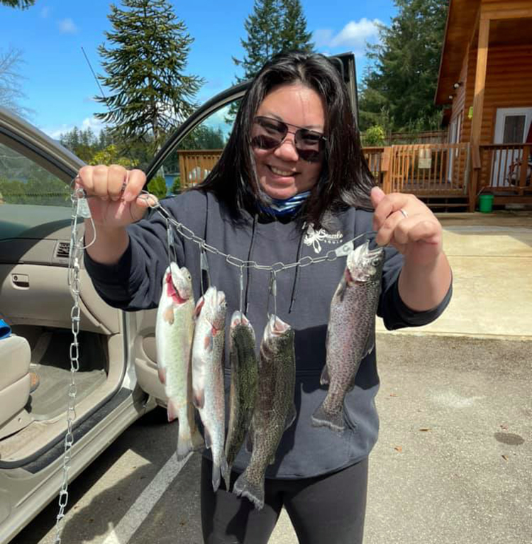 Seattle trout fishing report