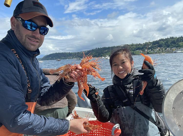 Puget Sound Spot Shrimp 2021
