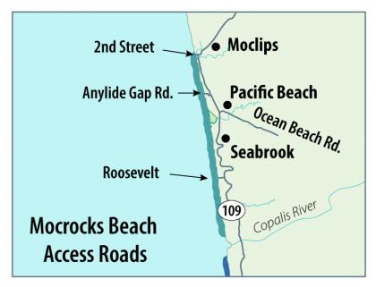 Razor Clam Mocrocks Map